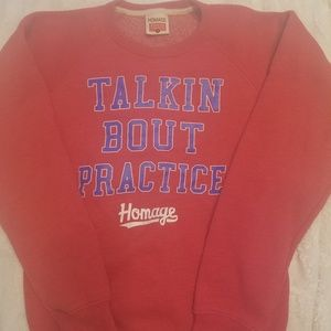 "Homage ""talkin bout practice"" Allen Iverson sweats"